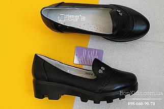 Черные туфли девочка на рельефной подошве Том.м р. 35, фото 3