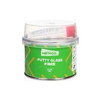 """Полиэфирная шпатлевка со стекловолокном PUTTY GLASS FIBRE """"METHOD"""" 0.25 кг."""
