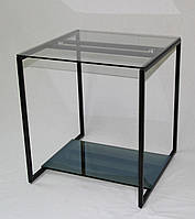 Стол журнальный Куб Black 450*450*500