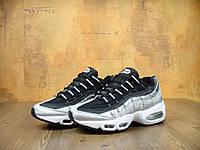 Женские кроссовки Nike Air Max 95 Black/White 36, фото 1