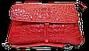 Эксклюзивная женская сумка из натуральной кожи красного цвета RYL-001600