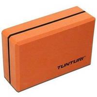 Блок для йоги Tunturi Yoga Block оранжевый