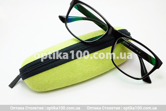 Футляр чохол для окулярів «ЛИМОНКА» на блискавці. Для диоптрийных або сонцезахисних