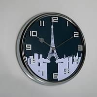 """Часы настенные """"Париж"""" (32см) металл"""