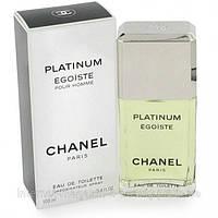Мужская туалетная вода Chanel Egoiste Platinum EDT 100 ml