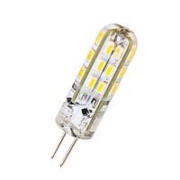 LED лампа BIOM G4 1.5W 12V 3000К силикон