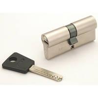 Цилиндр Mul-T-Lock 7х7 54мм.(27х27) ключ-ключ (матовый хром)