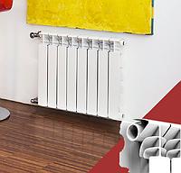Алюминиевый радиатор Fondital EXPERTO 500/100 А3, фото 1