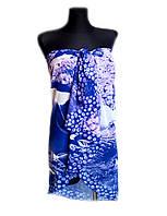 Парео- юбка, пляжный платок
