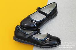Туфли на танкетке девочка школьная обувь Том.м р.34
