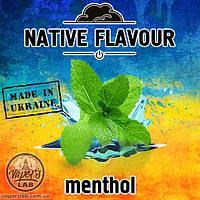 Жидкость Native Flavour Menthol со вкусом ментола для электронных сигарет   30. 100 мл