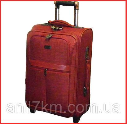 Большой дорожный чемодан на силиконовых колёсах GOLDEN HORSE ... ce7590a9886