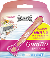 Wilkinson Sword ( Schick ) Quattro for Women женский бритвенный станок