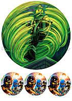 Вафельная картинка Ниндзяго