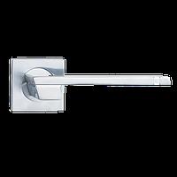 Ручка на розетке Siba Fermo мат.хром/хром