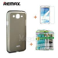 """Remax Силиконовый чехол+пленка+пакет для Samsung i9150/i9152 Mega 5,8"""""""