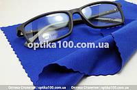Салфетка из микрофибры для оптики, очков, линз. Синяя