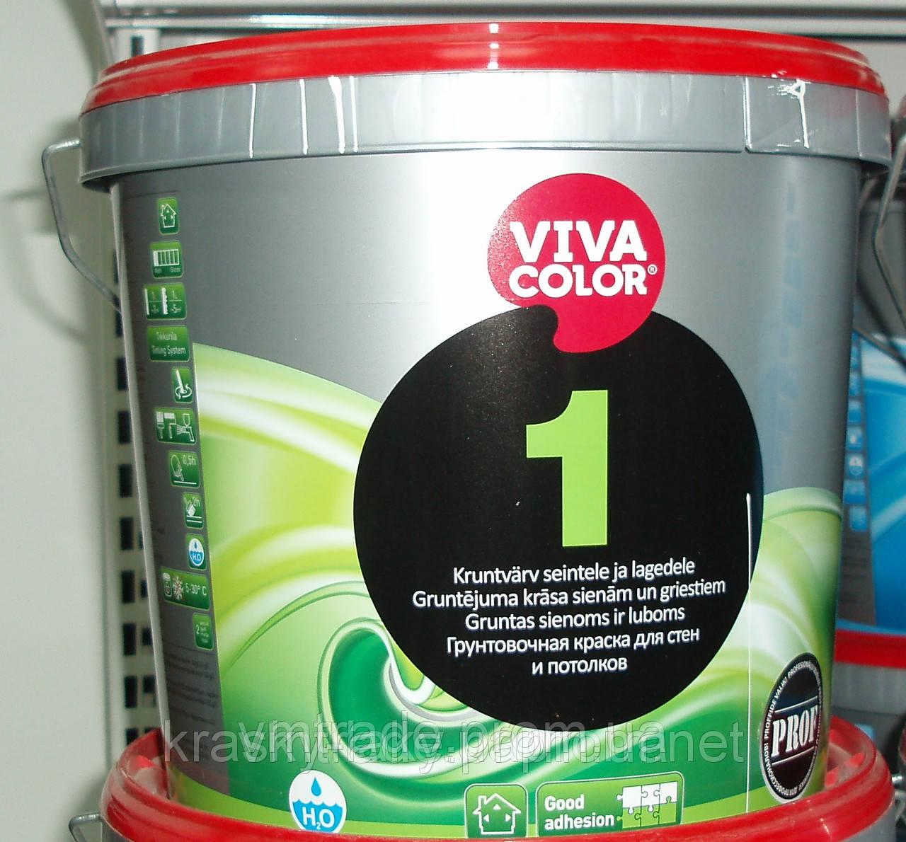 Краска для потолка Vivacolor 1, 9л