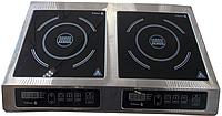 Плита индукционная Tehma 2х3,5 кВт настольная на 2 конфорки