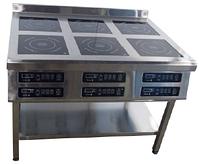 Плита индукционная Tehma 6 х 3,5 кВт на 6 конфорок напольная (1177х800 мм)