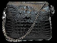 Оригинальная женская сумка из натуральной кожи черного цвета RYW-044010, фото 1