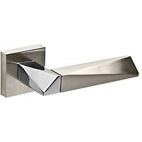 Ручки раздельные Fuaro DIAMOND DM SN/CP-3 матовый никель/хром