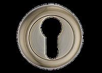 Накладка дверная под цилиндр MVM  E5a  AB  (старая бронза)