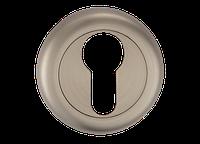 Накладка дверная под цилиндр MVM E5a SN - матовый никель