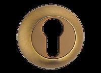 Накладка дверная под цилиндр MVM E9 MACC - матовая бронза