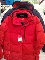 Куртка красная мужская зимняя 70