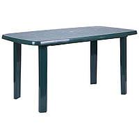 Стол Sorrento 140x80 пластик зеленый 15