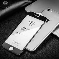 Защитное стекло 4D Apple iPhone 6 Plus black