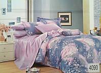 Сатиновое постельное белье семейное ELWAY 4090