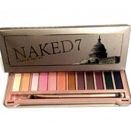 Набор теней для век Naked 7 12 цветов