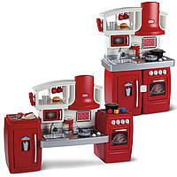 Интерактивная раздвижная детская кухня 2в1 Little Tikes - США -Звуковые эффекты добавляют игре реалистичности