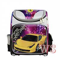 Рюкзак Winner stile J-015 Car школьный с рисунком на одно отделение для мальчиков 26см* 13см* 34см