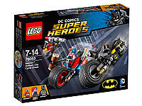 Lego Super Heroes Batman™:Gothem City Cycle Chase Бэтмен: Погоня на мотоциклах по Готэм-сити