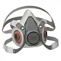 Полумаска-респиратор 3M 6300 (3M 6300) + комплект фильтров