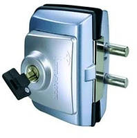 Замок накладной MUL-T-LOCK GDL-100S.CLASSIС для стеклянных дверей. ()