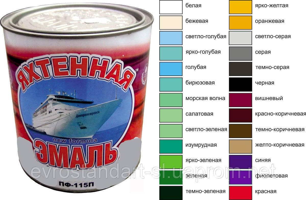 Эмаль ПФ-115 серая  0,25 кг. ЯХТЕННАЯ