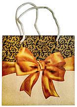 Подарочный пакет #201 (16 см) матовый