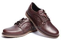 Кожаные туфли Kristan Premium Leather Brown