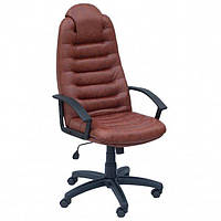 Кресло для руководителя Примтекс Плюс  Tunis P H-2221S Brown (Tunis P H-2221S)