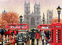 Схема вышивки бисером Осенний Лондон