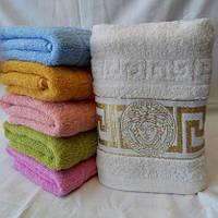 Красивые махровые полотенца для лица Размер: 1,0 x 0,5