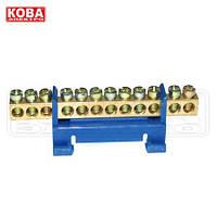 Нулевая шина Кова-электро 12 - отверстий