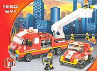 Конструктор Sluban серия Пожарные спасатели M38-B0223 Специальная пожарная команда