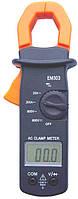 Цифровой тестер, токовые клещи em303, удобная форма, приятная цена, купить тестер в украине