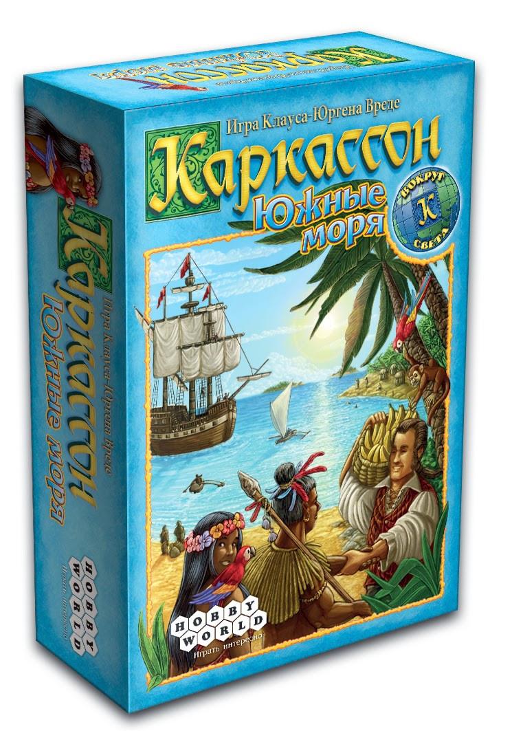 """Настольная игра """"Каркассон. Южные Моря"""" Hobby World"""