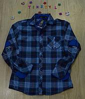 Стильная рубашка  для мальчика    (рост 128-152 см), фото 1